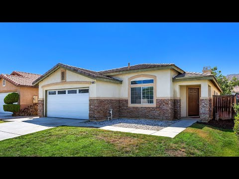 4 Bedroom Home For Sale 26541 Thoroughbred Lane Moreno Valley CA 92555