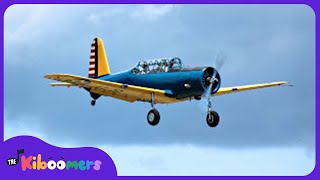 I'm a Little Airplane Song for Kids   Fun Songs for Children   The Kiboomers