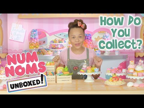 Unboxed! | Num Noms | Episode 3: How Do You Collect?
