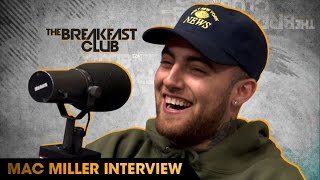 Mac Miller Interview With The Breakfast Club (9-22-16) by : Breakfast Club Power 105.1 FM
