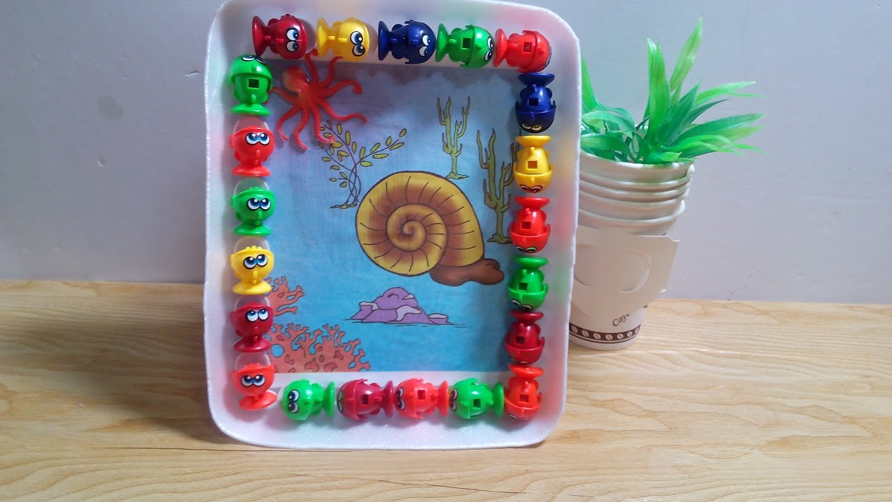 Diy crafts for kids how to recycle old toys to make beautiful diy crafts for kids how to recycle old toys to make beautiful frame tutorial jeuxipadfo Gallery