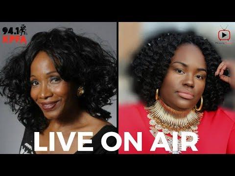 Minority Report   *LIVE* KPFA Radio Interview with host Jovelyn Richards