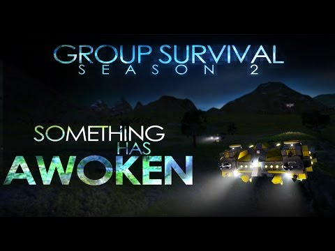 Group Survival Season 2 - Trailer #2 (Space Engineers)