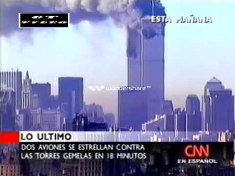 Atentados Torres Gemelas CNN Cobertura En VIVO YouTube