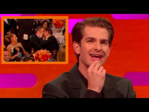 Andrew Garfield on Kissing Ryan Reynolds at The Golden Globes | The Graham Norton Show