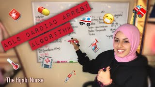 🚨Cardiac Arrest Step-by-Step!! (CPR, ACLS Algorithm)