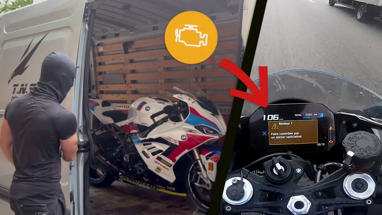 MON BMW S1000RR TOMBE EN PANNE..
