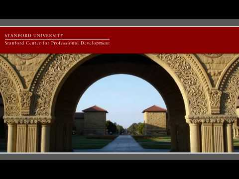 Stanford Center for Professional Development Video