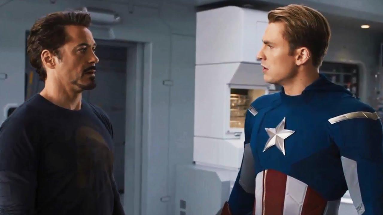 Iron Man y Capitán América en la cronología Marvel