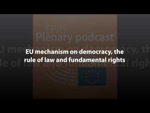 EU mechanism on democracy, the rule of law and fundamental rights [Plenary Podcast]