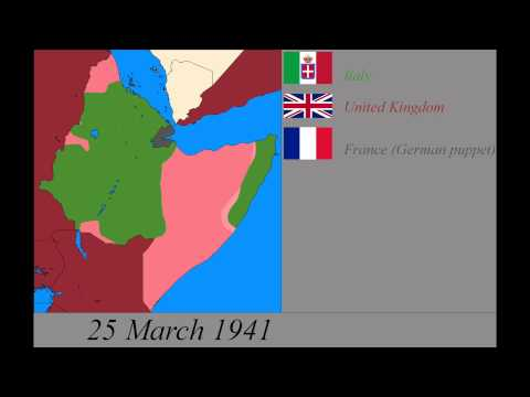 World War 2 in East Africa: Every Day