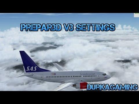 Prepar3D v3 Settings