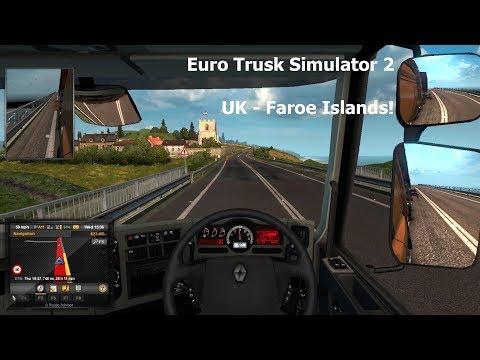 Euro Truck Simulator 2: UK to Iceland Part 1