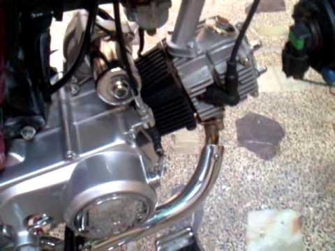 My Motor Bike Modified 70cc Youtube