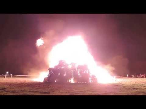 Knutsford Scouts Bonfire 2014