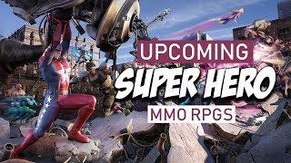 Upcoming Super Hero MMO RPGs Of 2018