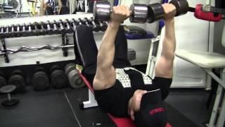 上腕三頭筋のトレーニング | ダンベル・トライセプスエクステンション