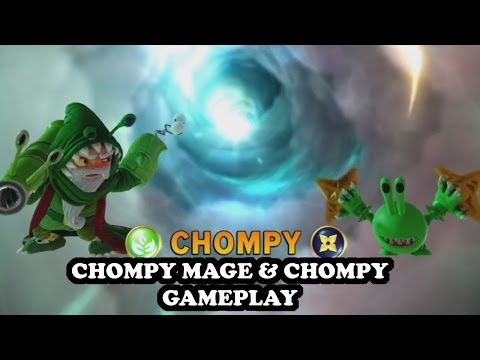 Skylanders Imaginators - Chompy Mage & Chompy (Life Ninja) GAMEPLAY - CHOMPY POWER TEAM N°1