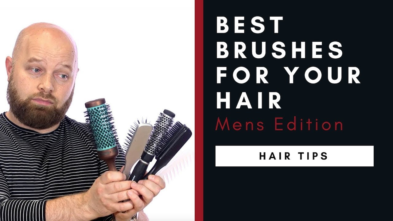 The Best Brushes For Your Hair Men S Edition Thesalonguy Youtube