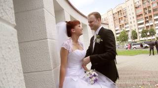 Видеоклип.Свадьба Насти и Андрея