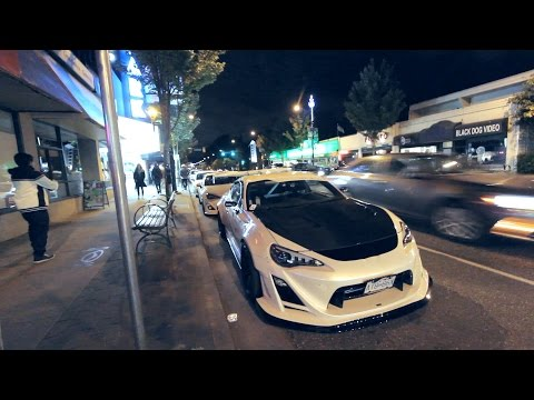 Night Running with 3 Widebody FRS