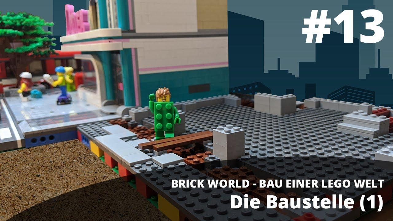 brick world lego update 13 • die baustelle 1  youtube