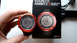 suunto Ambit2 S обзор GPS часов, впечатления, эксплуатация