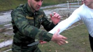 Курс самообороны от Тамерлана Собиева.Видеоурок №1