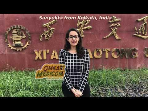 Xian Jiaotong University, Girl from Kolkata speaking