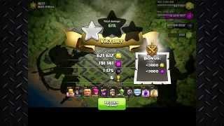 Clash of clans HISTORICAL 2.8 MILLION Raid Top 5 countdown HD