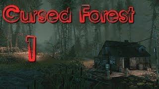 the Cursed Forest прохождение с Карном. Часть 1