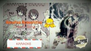 "《J.W》Assassination Classroom Shion Miyawaki ""Moonlight"" [Karaoke]"