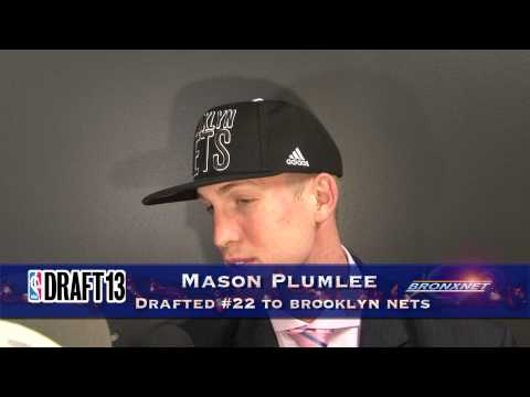 Mason Plumlee on Nets Draft