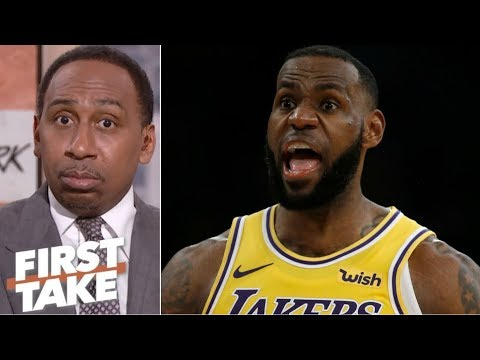Stephen A. won't entertain LeBron-Michael Jordan comparisons | First Take