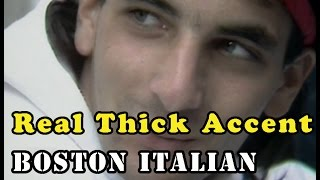 #real Thick Accent: Boston North End Italian
