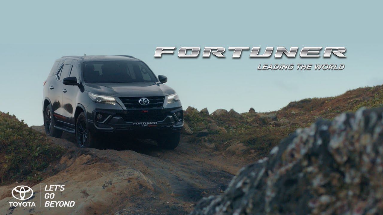 2019 Toyota Fortuner TRD Sportivo Unveiled in a TVC Ahead of