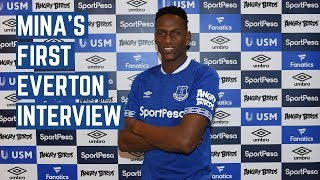 IT'S IMPORTANT THE CLUB WANTS TO FIGHT FOR SOMETHING | YERRY MINA'S FIRST INTERVIEW