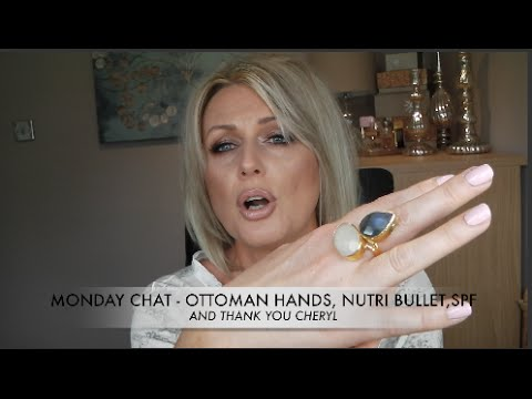 *MONDAY CHAT* -  OTTOMAN HANDS, MORPHE, EYE LASH SERUM, NUTRI BULLET AND THANK YOU CHERYL