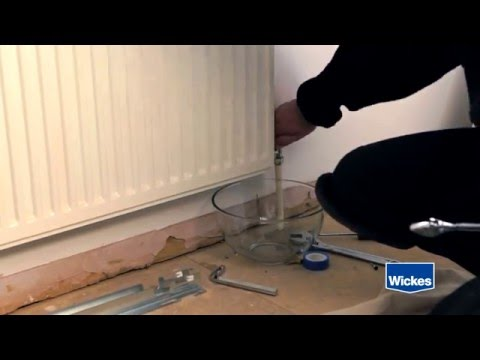 How to Install a Radiator with Wickes