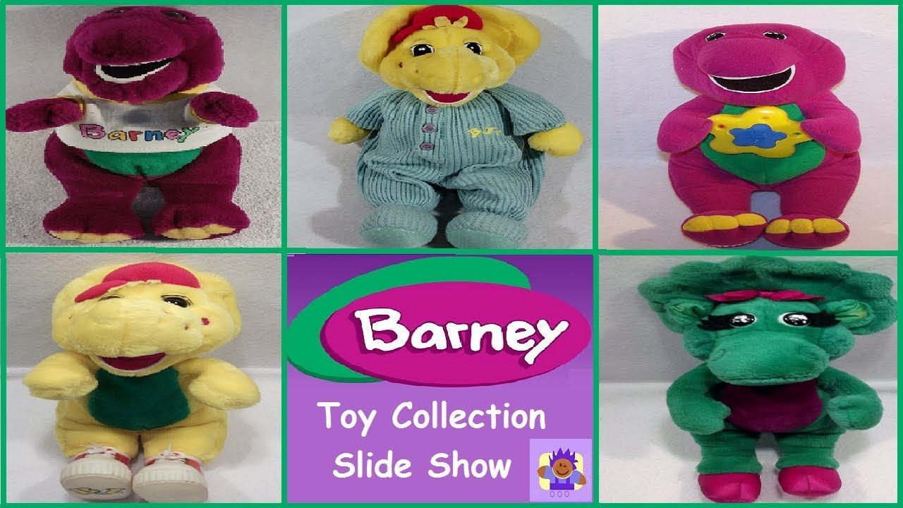 barney the purple dinosaur and friends toy collection slide show