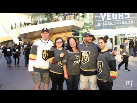 Hockey fans celebrate inaugural home game for Vegas Golden Knights