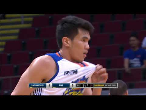 PBA Philippine Cup 2018 Quarterfinals: San Miguel vs. TNT Mar. 6, 2018