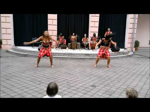 Batocu afro dance and  performance  in African FestChomutov