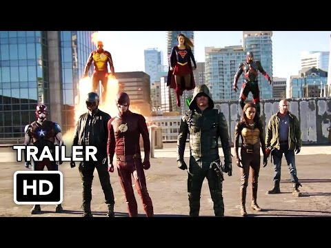 The Flash, Arrow, Supergirl, DC's Legends of Tomorrow4 Night Crossover Event Trailer(HD)
