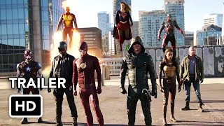 Video The Flash, Arrow, Supergirl, DC's Legends of Tomorrow 4 Night Crossover Event Trailer (HD) download MP3, 3GP, MP4, WEBM, AVI, FLV Januari 2018