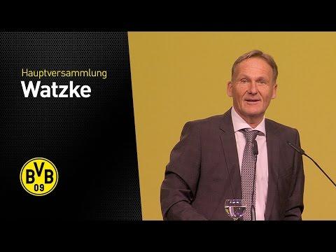 Hans-Joachim Watzke Auf Der Ordentlichen Hauptversammlung 2016