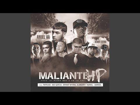 Maliante Hp (Remix) (feat. Anuel Aa, Farruko, Almighty, Darkiel, Bryant Myers, Nio Garcia & Noriel)
