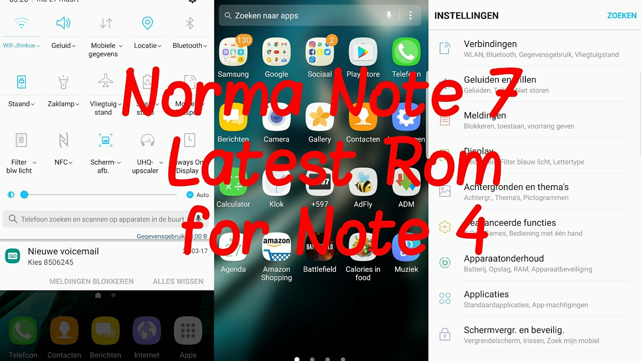 Repeat Norma Note 7 Rom v14 Port for Note 4 N910F/G/T | Best, Smooth