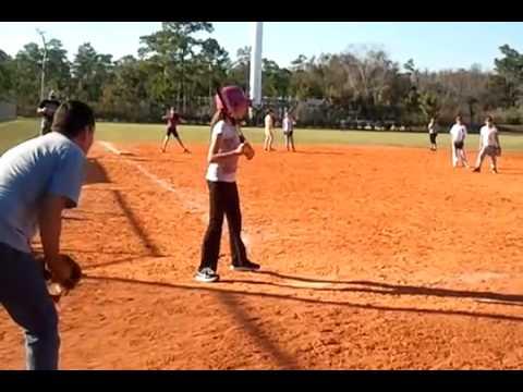 Kates first time at bat January 29, 2011 356 PM