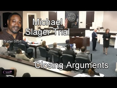 Michael Slager Trial Closing Arguments 11/30/16
